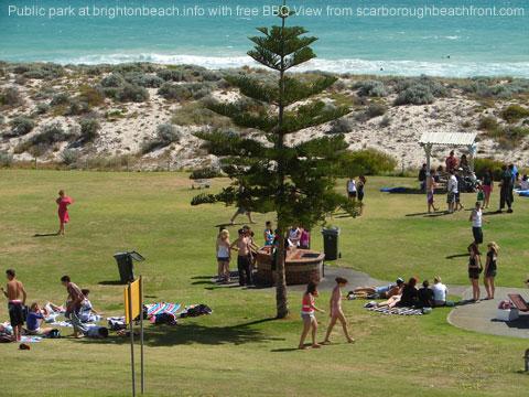 public beach park bbq perth